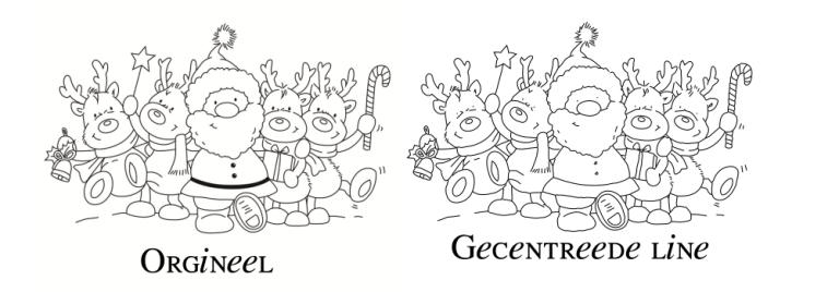 Gecentreerde lijn traceren in Inkscape – Nooit meer Dubbele lijnen met het tekenen met je machine!