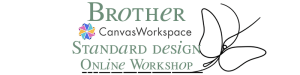 Brother Canvas Workspace – Basis Design maken