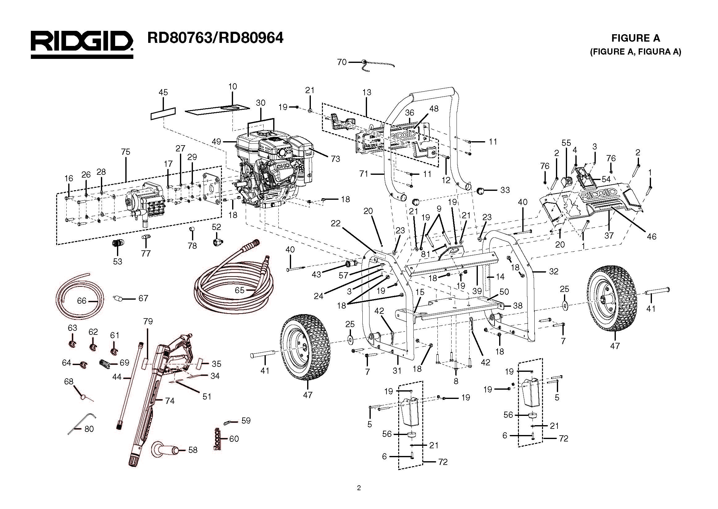 Pressure Washer Replacement Parts