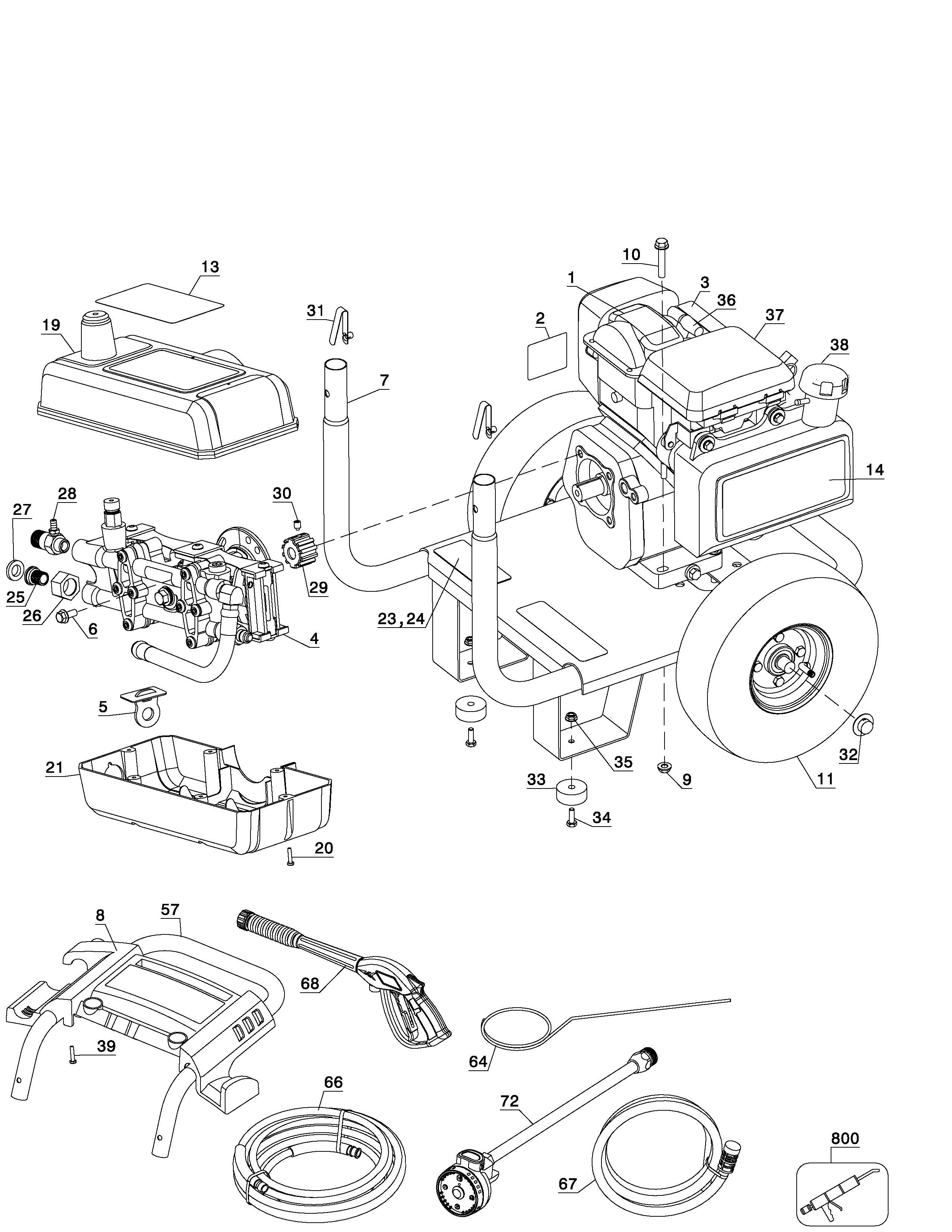 Excell Pressure Washer Parts