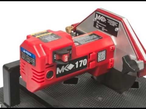 mk diamond mk 170 mini wet tile saw 157222