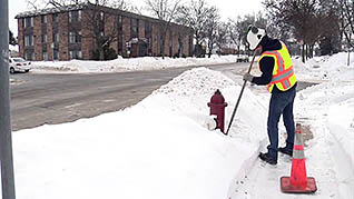 Working in cold weather