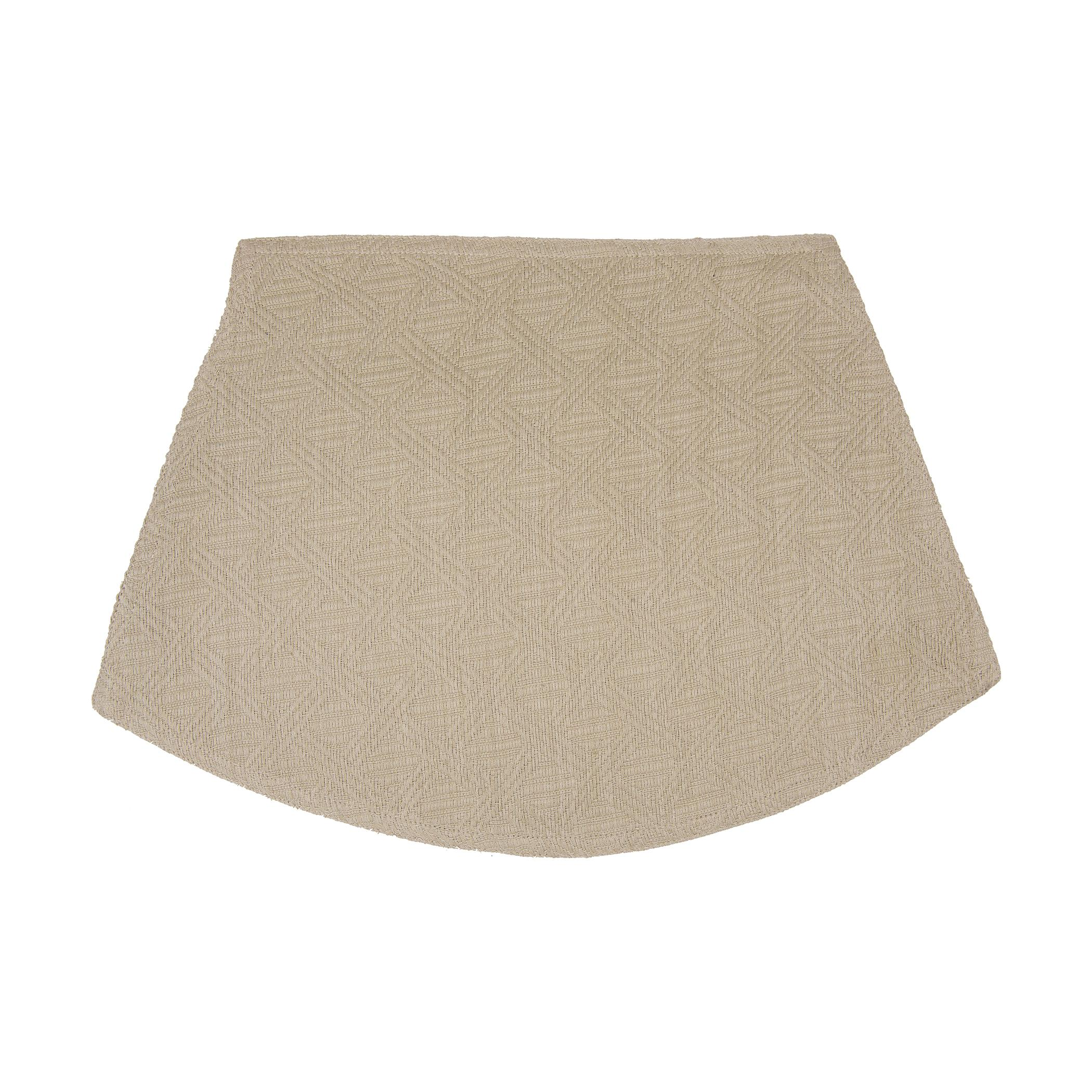 lintex linens placemat wedge shape for round table