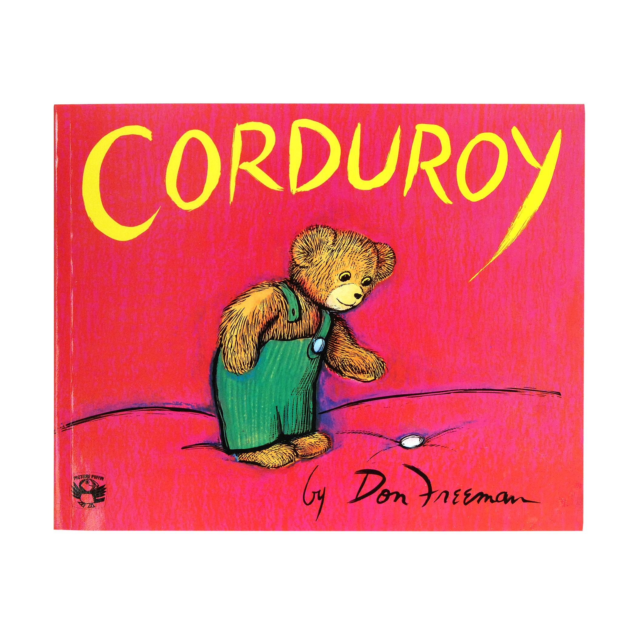 Corduroy Bear