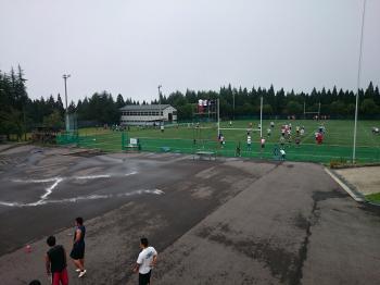 関西学院大学アメリカンフットボール部ファイターズ合宿風景
