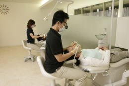 豊中市上野西ますだ歯科医院診療室