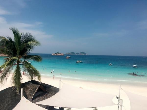 マレーシアレダン島の風景