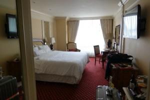 ウェスティンホテルの室内