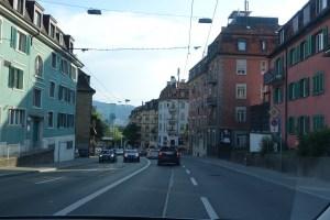 チューリッヒの街並み