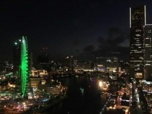 ロイヤルパークホテルからの横浜夜景