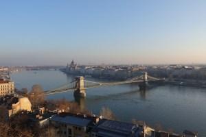 ブダペスト城からの早朝風景