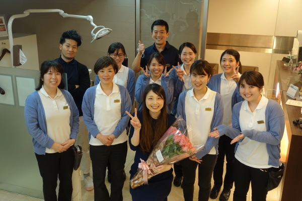歯科衛生士・後藤が産休に入りました