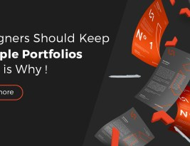 Graphic Designers Keeping Multiple Design Portfolios is a thing ,here is why !