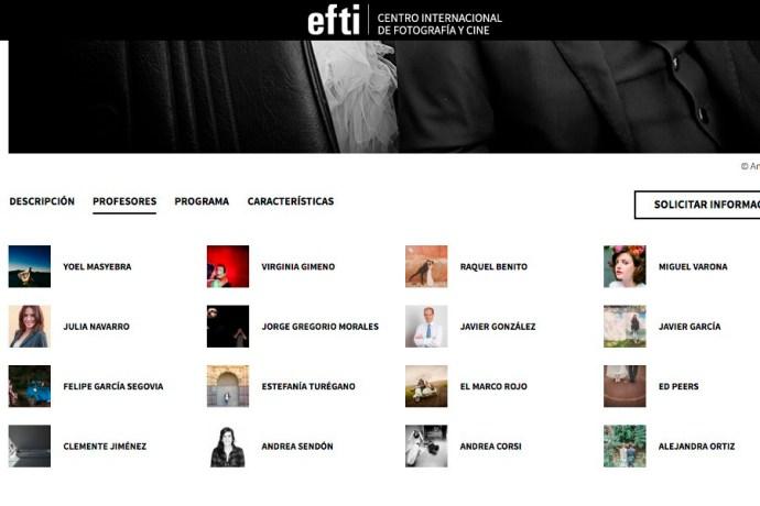 Escuela EFTI :: Masyebra fotógrafo invitado en su Curso Internacional de Fotografía de Bodas