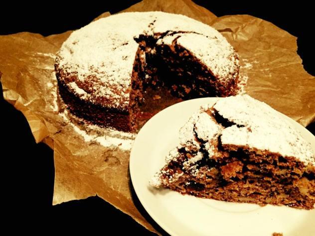 orzechowe ciasto orzechowe