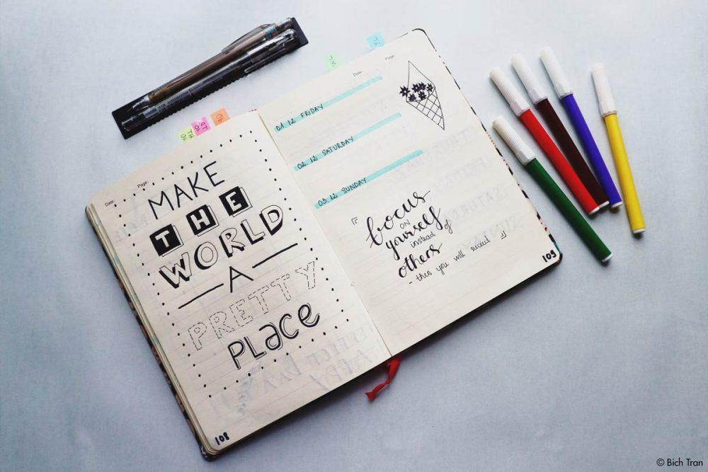 bullet journal - 15 Ideen für dein Bullet Journal