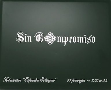 Sin Compromiso Cigar Box