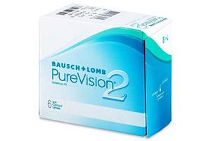Φακοί επαφής PureVision 2 από την Bausch & Lomb για την μυωπία