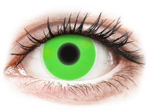 ColourVUE Crazy Glow Green - Αποκριάτικοι φακοί επαφής