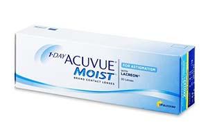 Φακοί επαφής 1 Day Acuvue Moist for Astigmatism