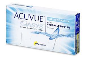 Φακοί επαφής Acuvue Oasys for Astigmatism