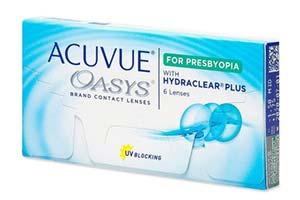 Φακοί επαφής Acuvue Oasys for Presbyopia