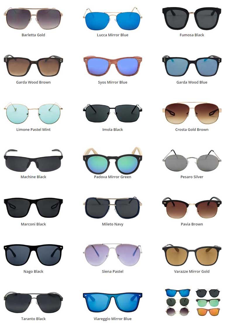 Ανδρικά γυαλιά ηλίου 1+1