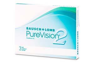 Φακοί επαφής Purevision 2