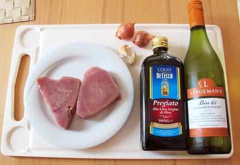Tunfisk med poteter