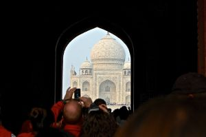 Introduction to Taj Mahal. Photo taken by Pete Follansbee.