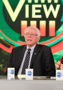 """THE VIEW - Democratic presidential candidate and Vermont Senator Bernie Sanders is the guest today, Monday, October 26, 2015 on ABC's """"The View."""" """"The View"""" airs Monday-Friday (11:00 am-12:00 pm, ET) on the ABC Television Network. (Photo by Lou Rocco/ABC via Getty Images)"""
