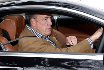 LONDON, UNITED KINGDOM - MARCH 16: Jeremy Clarkson seen leaving his West London home on March 16, 2015 in London, England. (Photo by Neil Mockford/Alex Huckle/GC Images)
