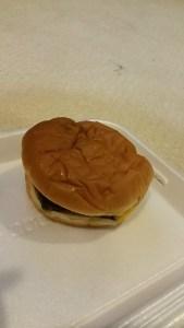A Cheddar Style Burger