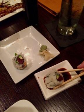 Mas Sushi Roll.