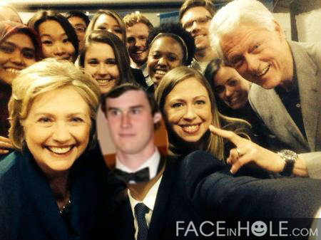 The Clintons & Rick O'Shea