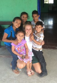 Ellie Fleming in Nicaragua. Courtesy of Ellie Fleming.