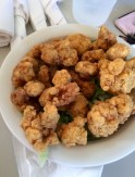 Fried alligator tail.