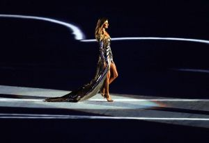 Gisele Bündchen during the Rio 2016 Opening Ceremony. Photo Credit: Fernando Frazão/Agência Brasil via Wikimedia