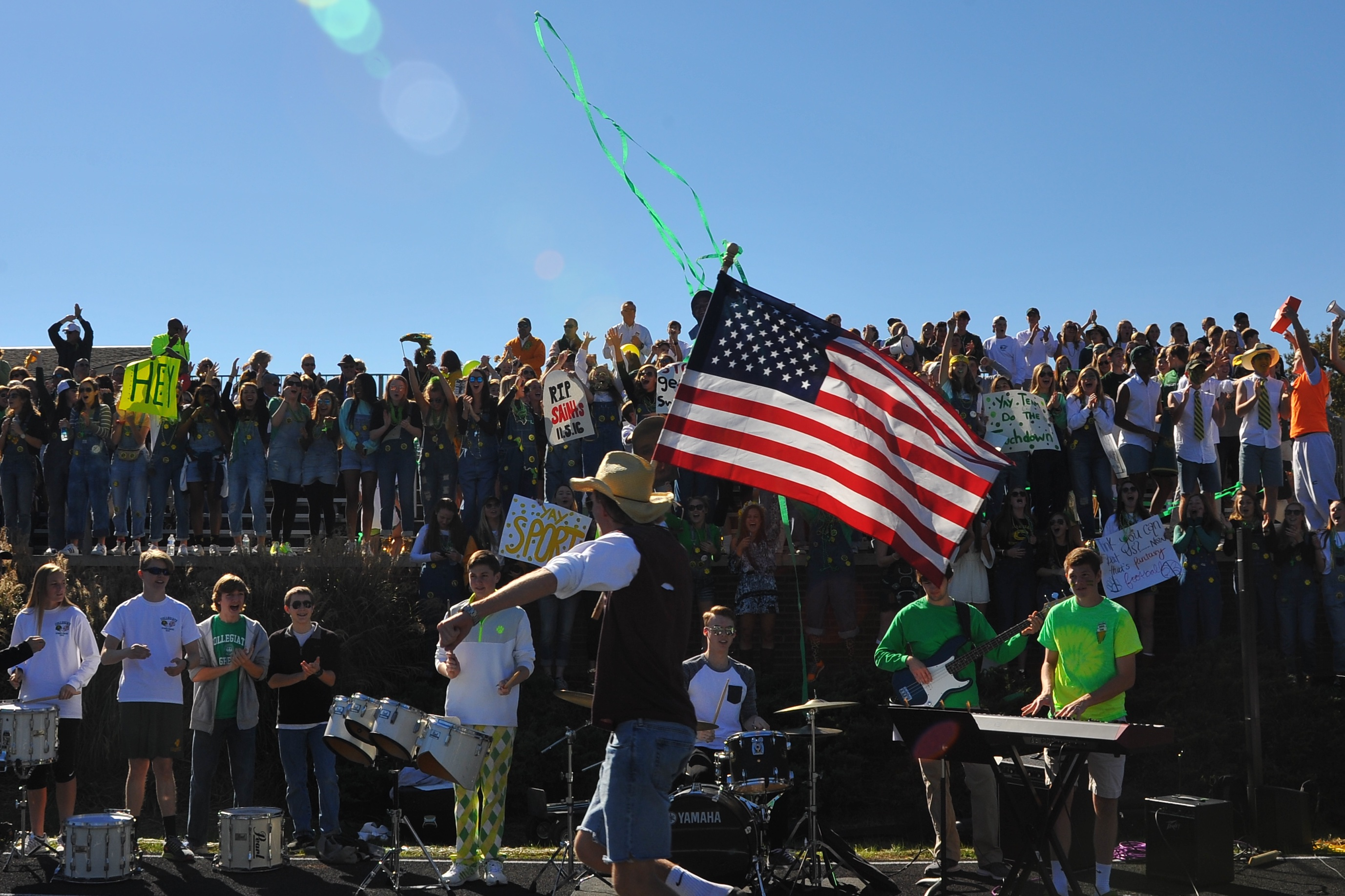 A view of the stands during the Homecoming game Photo Courtesy of Toler Innes