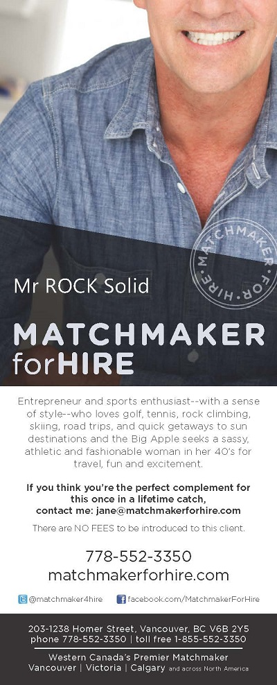 Custom Searches – Matchmaker For Hire