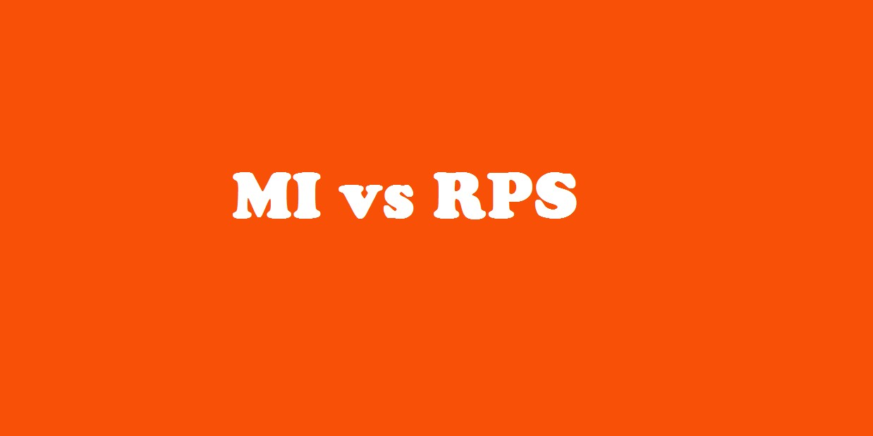 MI vs RPS, Mumbai Indians vs Rising Pune Supergiant, 28th Match Who Will Win Today Match Prediction