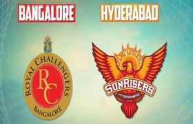Royal Challengers Bangalore vs Sunrisers Hyderabad-IPL 51st Match-Ball By Ball Today Match Prediction