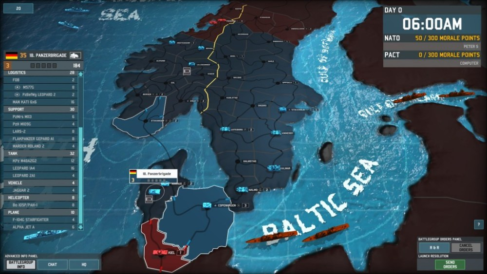Let's defend Scandinavia in Wargame: AirLand Battle! Part 1: Something Rotten in Denmark (6/6)