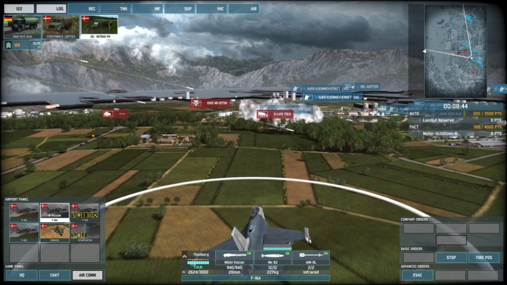 Let's defend Scandinavia in Wargame: AirLand Battle! Part 2 (FINAL): Who Dares, Wins (5/6)
