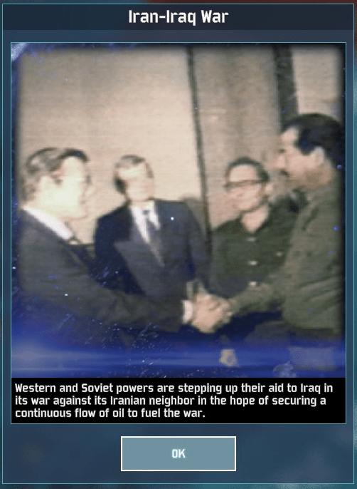 WAB Day 9 Rumsfeld Saddam