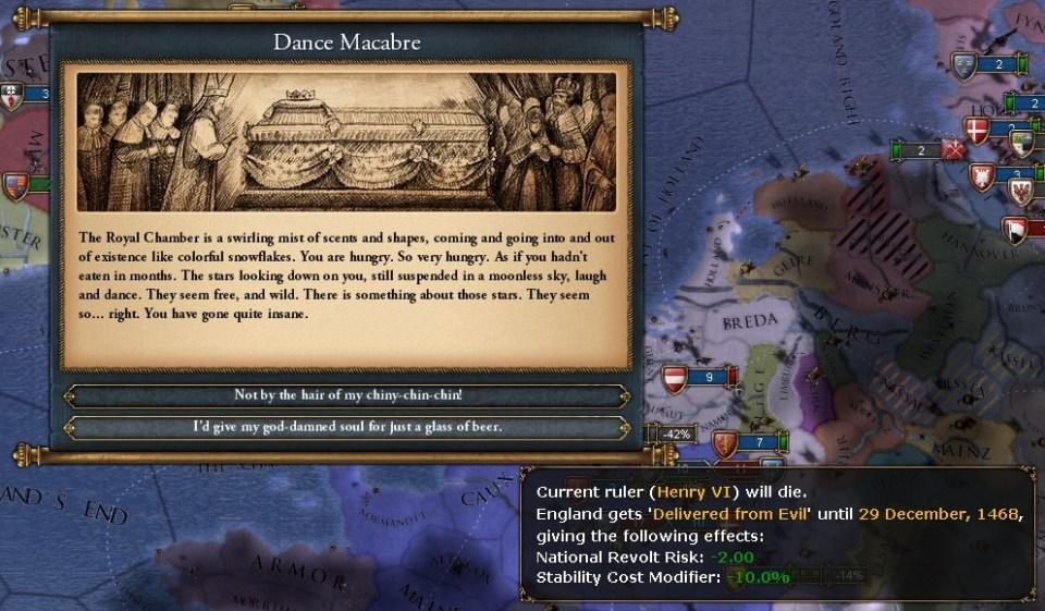 EU4 Death of Henry VI