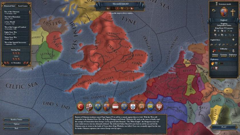 EU4 England Start