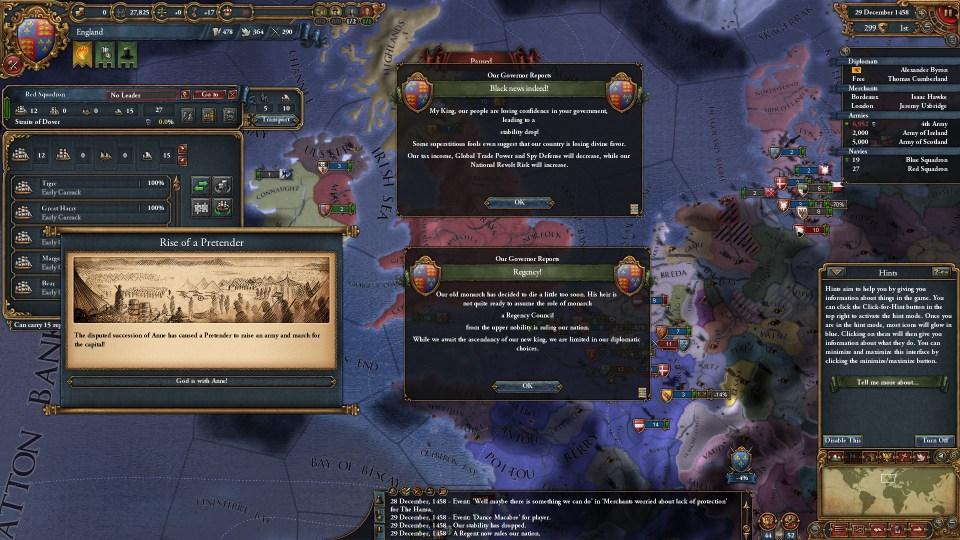 EU4 Rocky accession of Anne