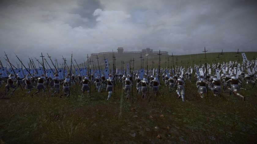 Shogun 2 leaves competing games in the dust.