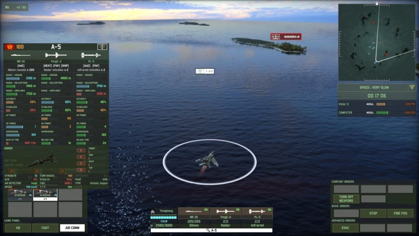 WRD Airstrike vs ship